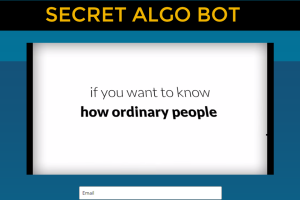Secret Algo Bot Review