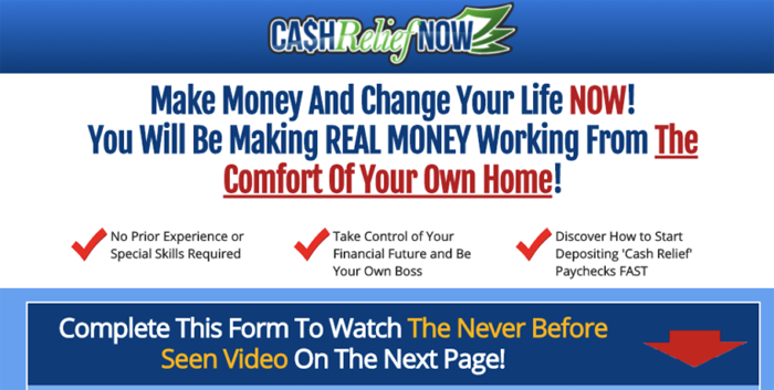 Cash Relief Now